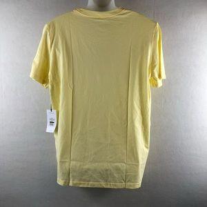 Matte Gray Shirts - 📦Modern palm tree T-shirt SZlarge mellow yellow
